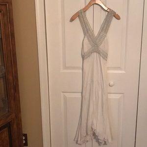 Armani Exchange white dress
